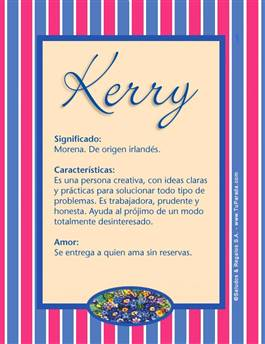 Nombre Kerry