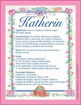 Nombre Katherin