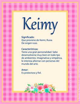 Nombre Keimy