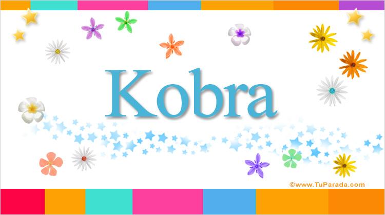 Kobra, imagen de Kobra