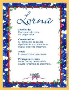 Nombre Lorna