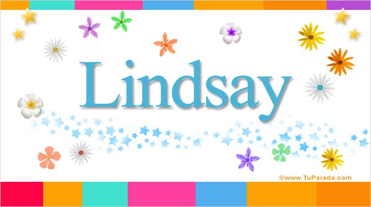 Lindsay, imagen de Lindsay