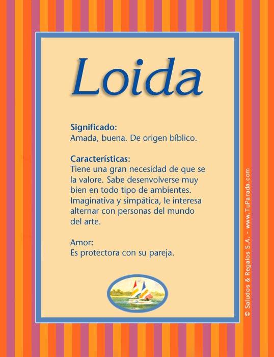 Loida, imagen de Loida