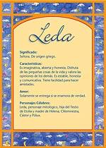 Nombre Leda