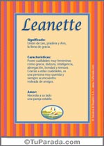 Leanette