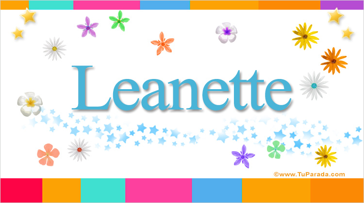 Leanette, imagen de Leanette
