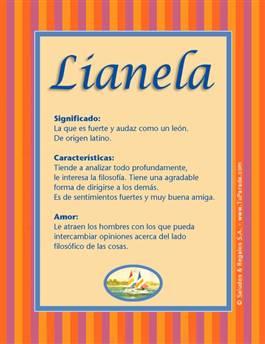 Nombre Lianela
