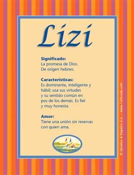 Nombre Lizi