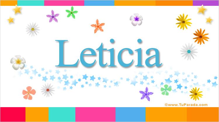 Leticia, imagen de Leticia