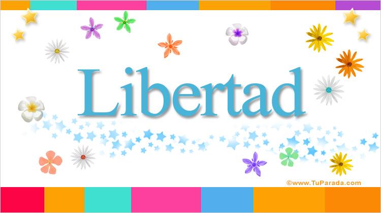 Libertad, imagen de Libertad