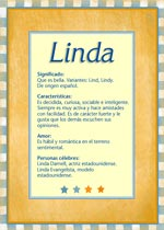 Nombre Linda