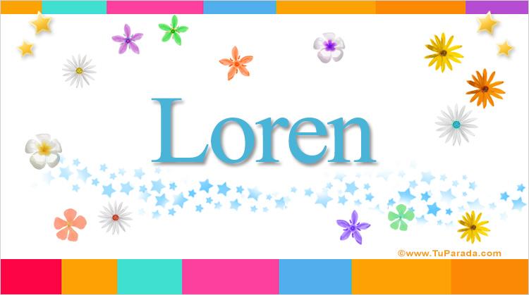 Loren, imagen de Loren