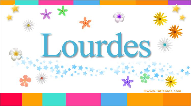 Lourdes, imagen de Lourdes
