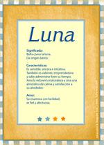 Nombre Luna