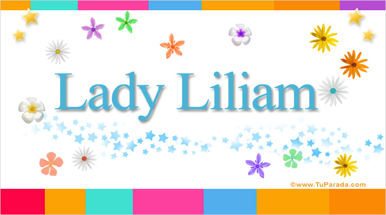 Lady Liliam, imagen de Lady Liliam