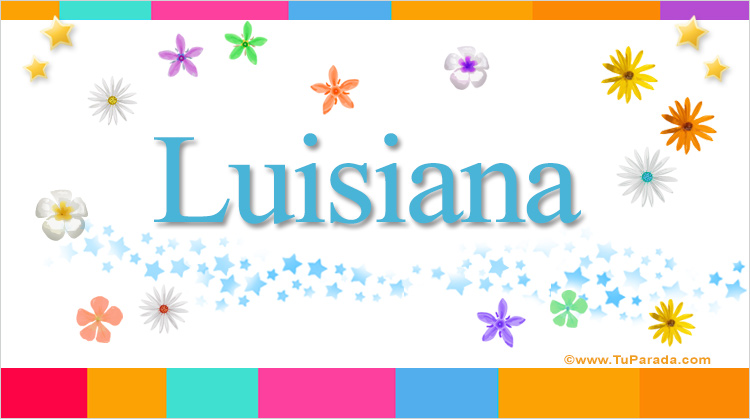 Luisiana, imagen de Luisiana