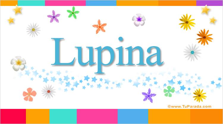 Lupina, imagen de Lupina