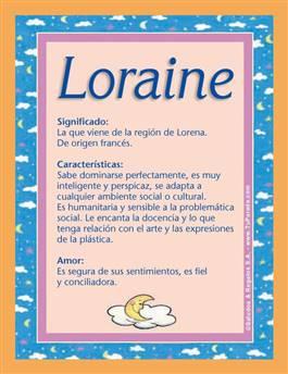 Nombre Loraine