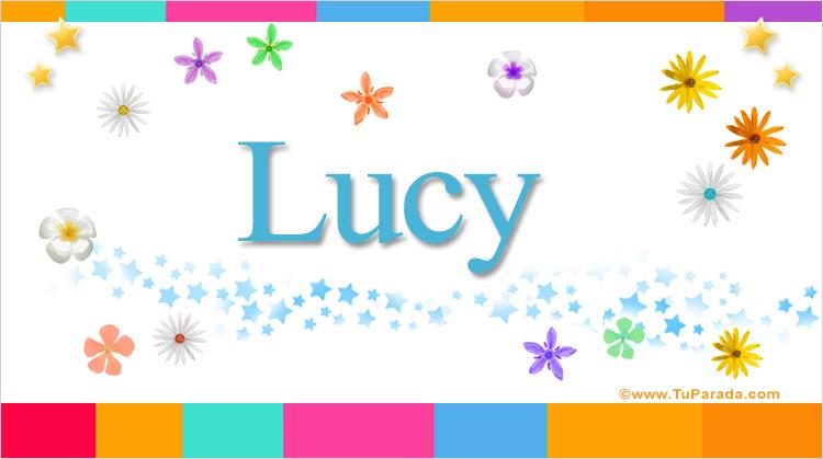 Lucy, imagen de Lucy