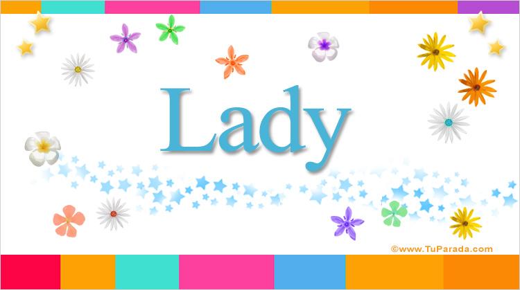 Lady, imagen de Lady