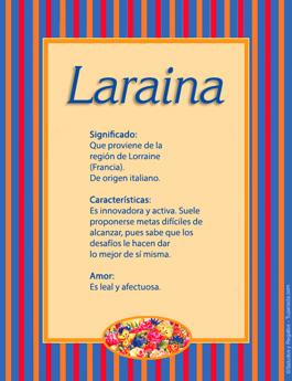 Nombre Laraina