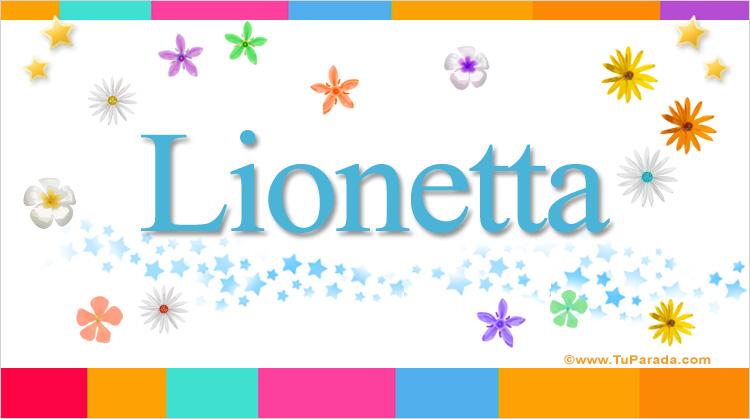 Lionetta, imagen de Lionetta
