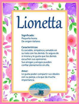 Nombre Lionetta