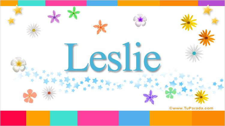 Leslie, imagen de Leslie
