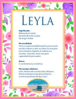 Nombre Leyla