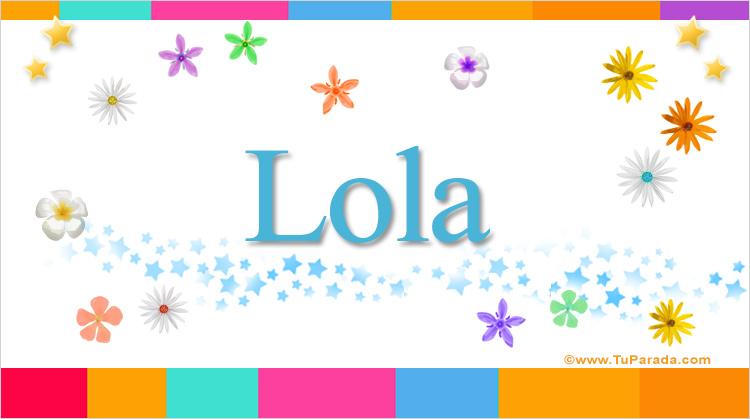 Lola, imagen de Lola
