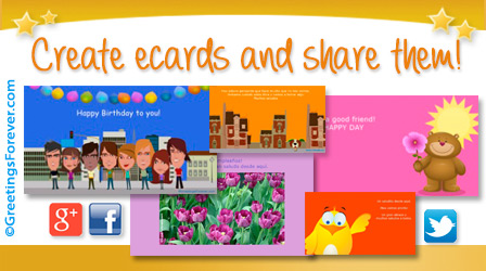 Ecards: Create ecards