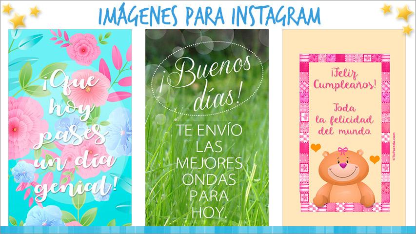 Tarjetas de Imágenes para Instagram