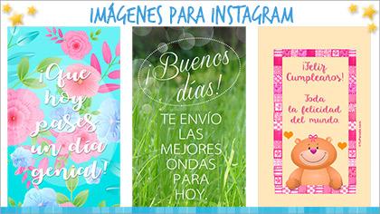 Tarjetas, postales: Imágenes para Instagram