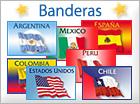 Tarjetas de Banderas