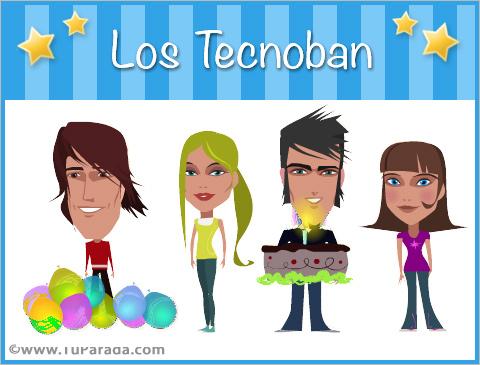 Tarjetas de Los Tecnoban
