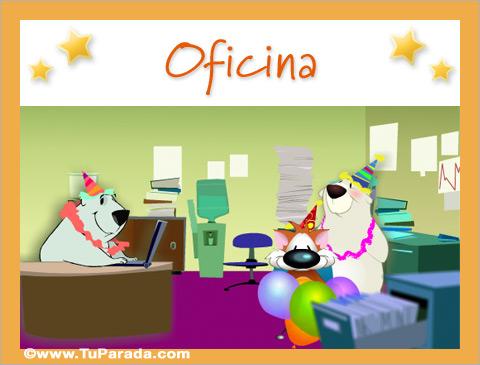 Tarjetas de Oficina