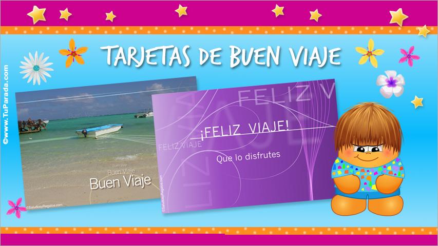 Tarjetas De Buen Viaje Postales De Feliz Viaje Tarjetas Para Desear Un Feliz Viaje