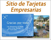 Tarjetas, postales: Empresas (sitio)