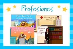 Tarjetas de Profesiones y trabajos