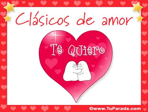 Tarjetas de Clásicos de amor
