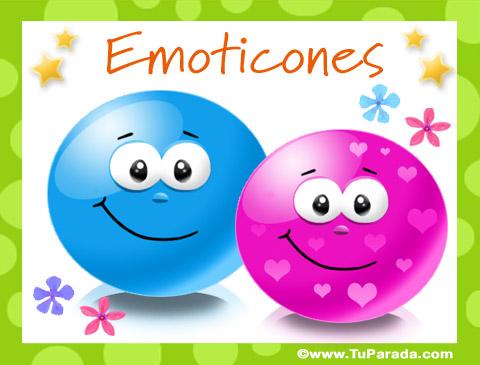Tarjetas de  Emoticones