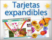 Tarjetas, postales: Expandibles
