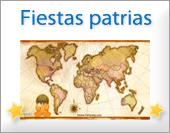 Tarjetas, postales: Fiestas patrias