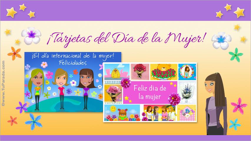 Ver fecha especial de Día Internacional de la Mujer