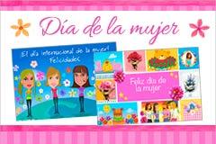 Tarjetas de Día de la Mujer
