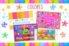 Tarjetas de  Colores