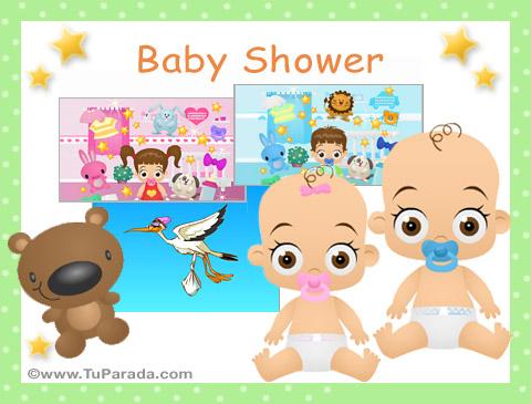 84def49ef900e Tarjetas de Baby Shower