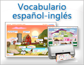 Tarjetas, postales: Vocabulario Inglés