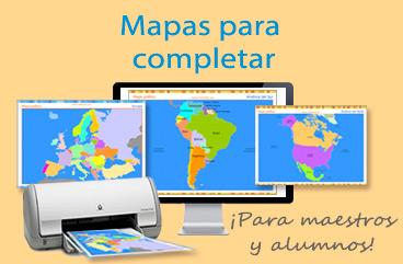 Tarjetas, postales: Mapas