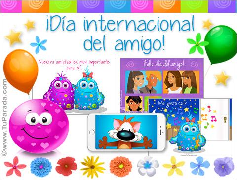 Ver fecha especial de Día internacional del Amigo